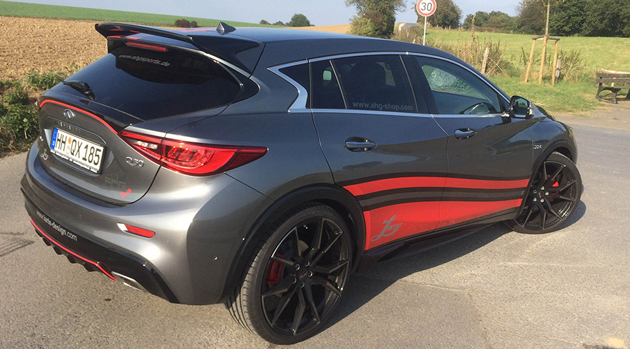 LARTE Design Infiniti QX30 Hot Hatch