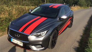 LARTE Design presents a new hot hatch! Check this Infiniti QX30 out!