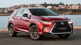 lexus presents two new models to the rx lineup: check 'em out!
