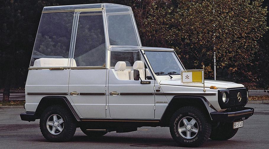 2016 Popemobile