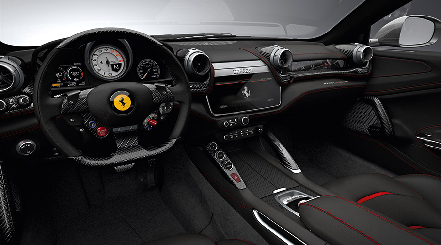 Ferrari Unveils Its First Ever V8 Four Seat Model