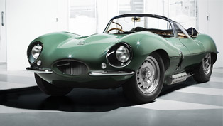 Jaguar team proudly presents a recreated replica to a legendary 1950's legend