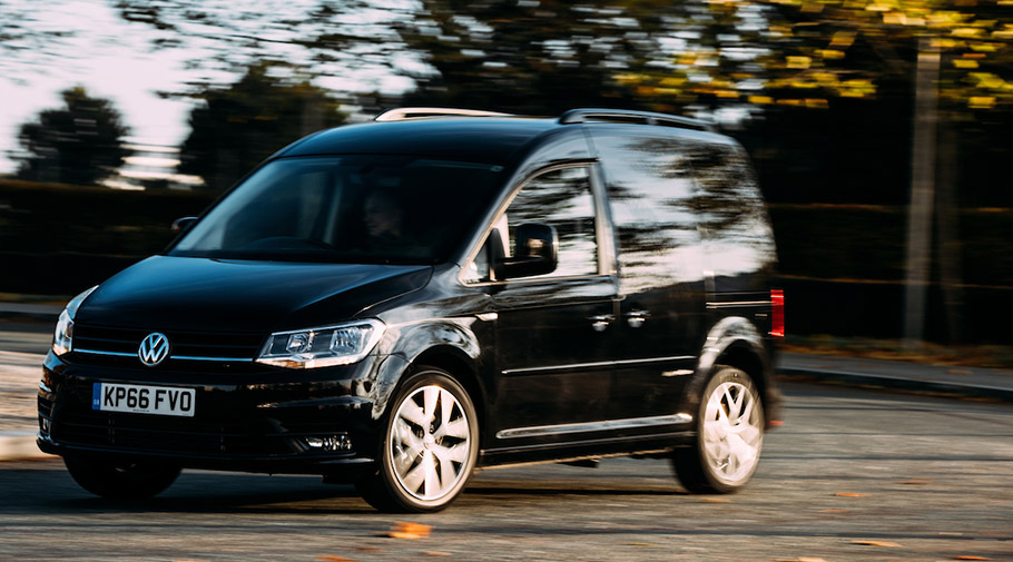 2016 Volkswagen Caddy Black Edition