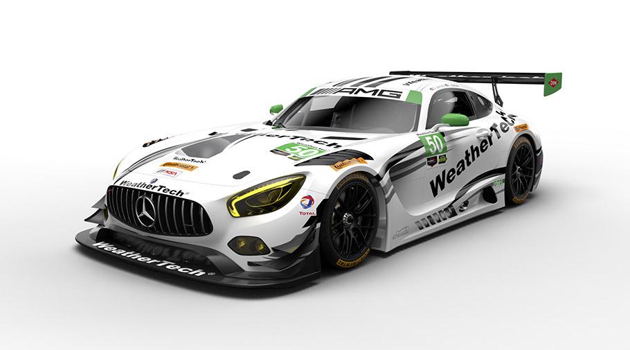 2017 Mercedes-AMG GT3 Racecars