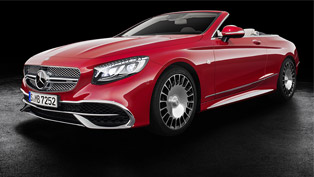 Maybach proudly showcases its first cabrio vehicle. And it is fabulous!