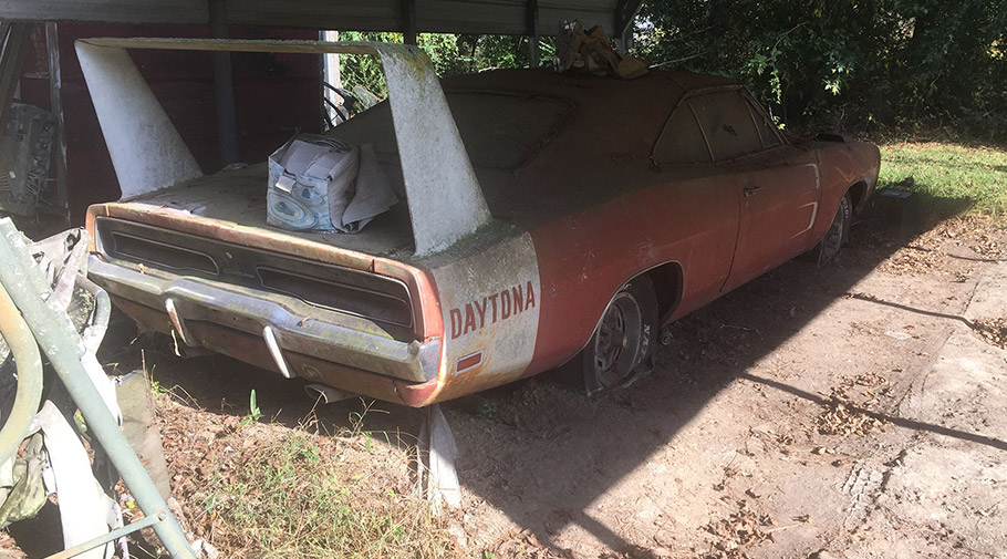 About Barn Find Vehicles