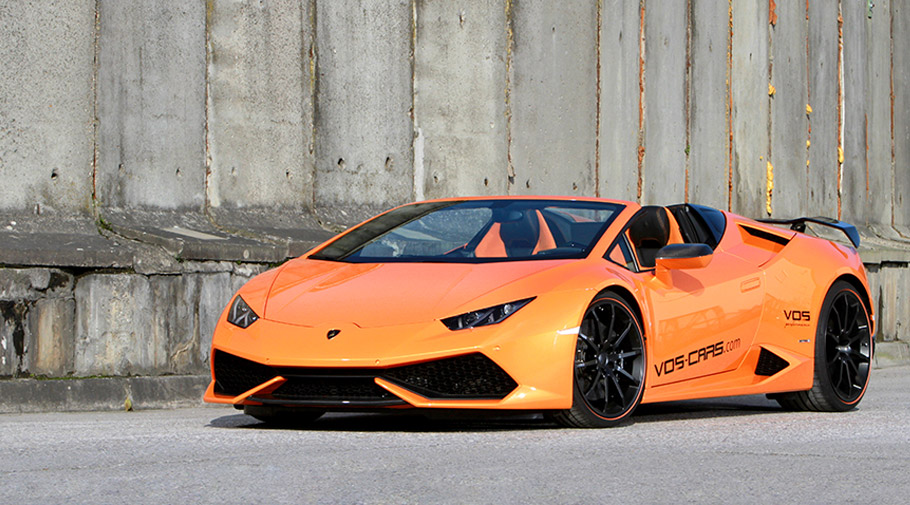 vos performance reveals exclusive lambo huracan. Black Bedroom Furniture Sets. Home Design Ideas