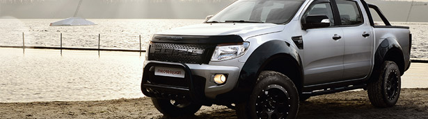Ford Ranger by MR Car Design: eye-candy and a beast at the same time