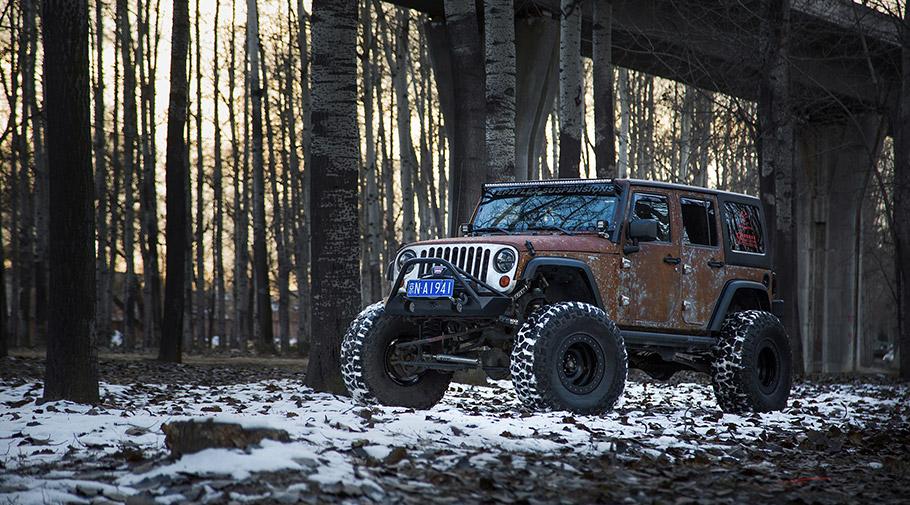 2017 Vilner Jeep Wrangler Hunting Unlimited