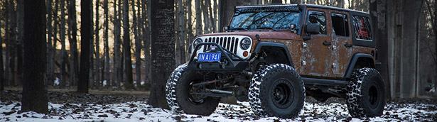 Manliness and power from Bulgaria: Vilner presents Jeep Hunting Unlimited!