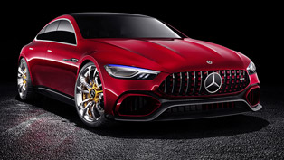 AMG team celebrates its 50th anniversary with a special concept vehicle!