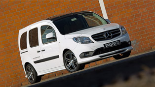 Mercedes-Benz Citan receives a touch of exclusivity by PM Vansport team!