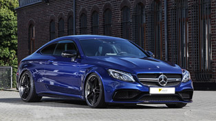 Power and precision in blue: this is one lucky Mercedes-AMG vehicle!