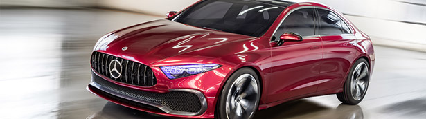 The Concept A Sedan: Mercedes' passionate greeting of Spring