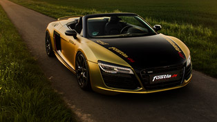 menacing and muscular: fostla.de's own vision of a perfect audi vehicle