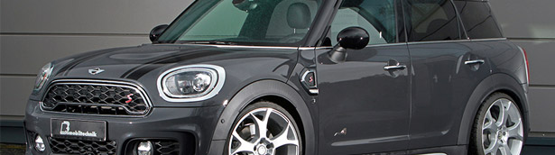 B&B team shows off with a monstrous MINI Cooper! Check it out!