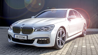 DTE Tuning Enhances the Already Mighty 2016 BMW 750d xDrive Machine!