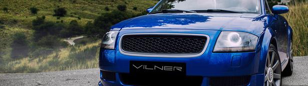 Audi TT Roadster by Vilner. Astonishing.