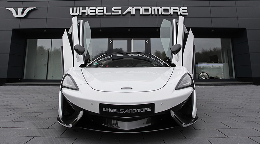 Wheelsandmore reveals the heavily revised McLaren 570 GT