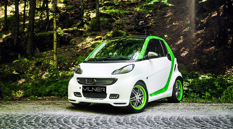2017 Brabus SMART fortwo by Vilner