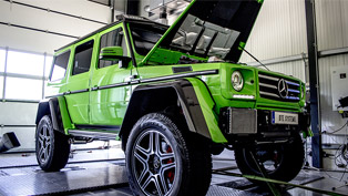 Getting even better: DTE Systems team takes a closer look at a Mercedes-AMG G-Class monster!