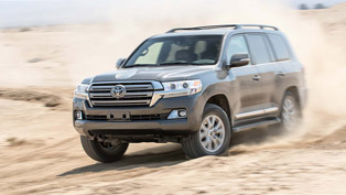 toyota land cruiser continues on with a great legacy