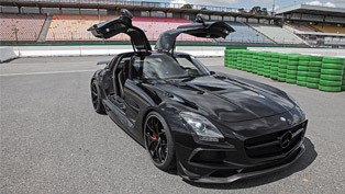Almost as a Batmobile: check Inden Design's Mercedes-AMG interpretation!