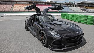 Almost as a Batmobile: check Inden Design's Mercedes-AMG interpretation!