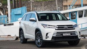 2017 Toyota Kluger Grande