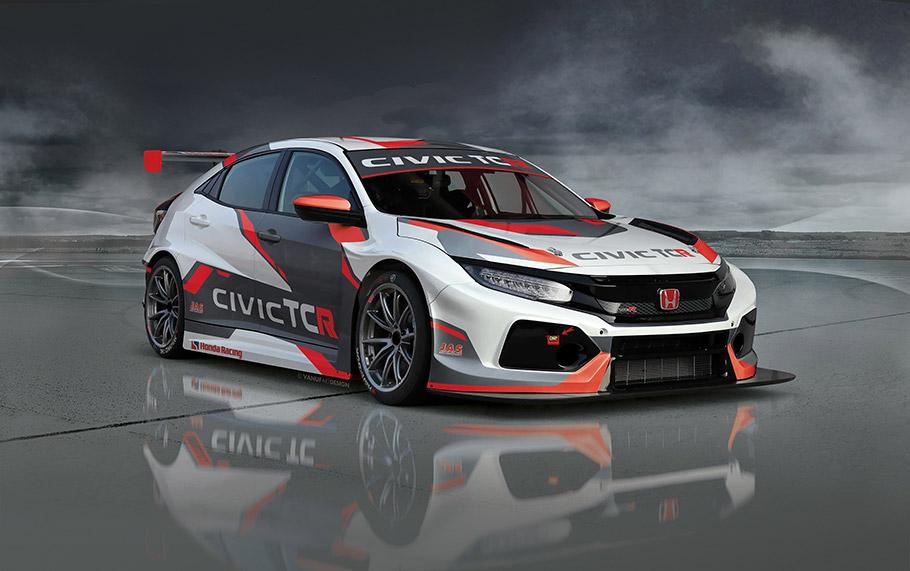 2018 Honda Civic TCR Concept