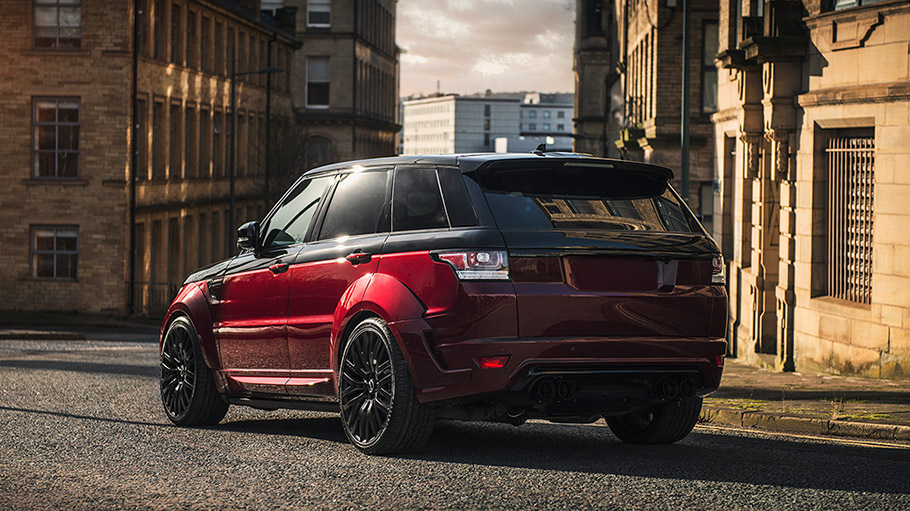 2018 Kahn Design Land Rover Range Rover Sport Autobiography Dynamic Pace Car