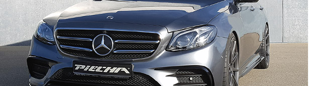 Mercedes E 400 by PIECHA Design: bald and beautiful. We like it!