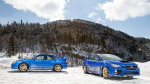 Subaru Impreza WRX vs STi