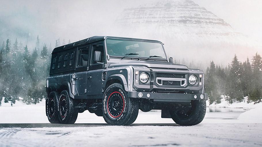 2018 Kahn Design Land Rover Defender Civil Carrier
