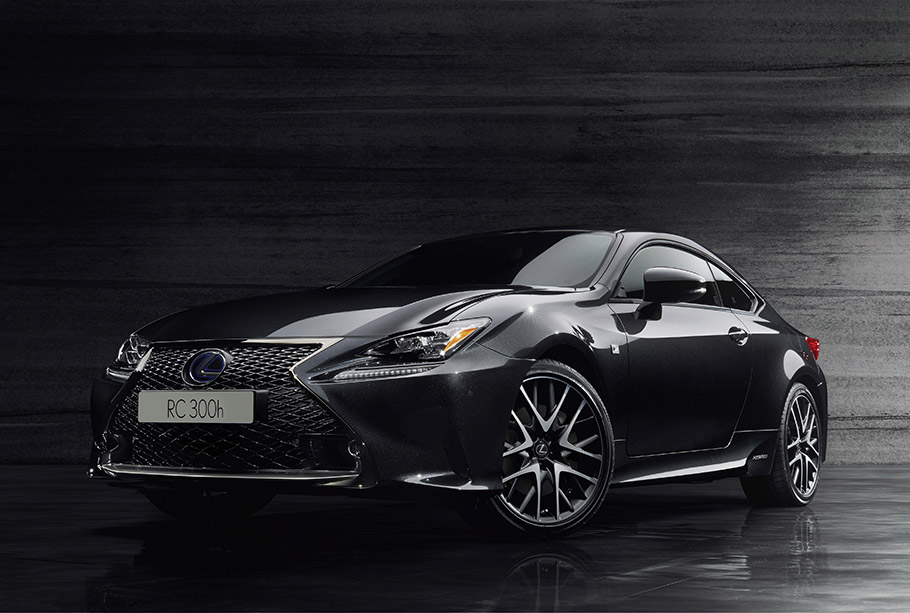 2018 Lexus 30h F Sport Black Edition