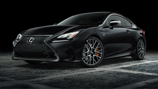 Lexus showcases Black Line Edition models