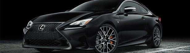 Lexus showcases Black Line Edition models