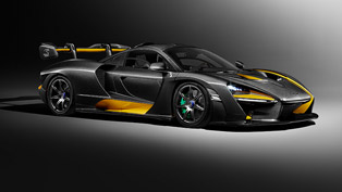 Sexiness unleashed: McLaren Senna Carbon Edition to debut at Geneva Show
