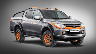 Mitsubishi team showcases one more limited edition machine: the Barbarian
