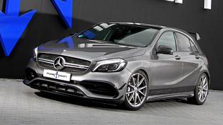 posaidon team upgrades the already appealing amg a 45