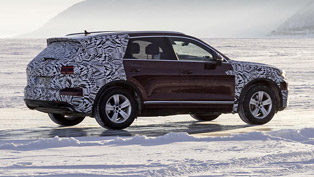 Volkswagen team put 2019 Touareg to the ultimate challenge!