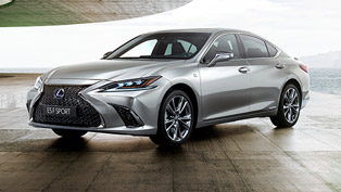 Lexus presents the LS F Sport model