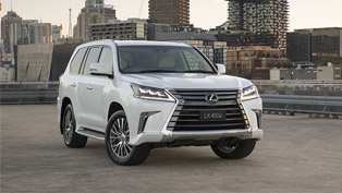 Lexus reveals an updated version of the versatile LX 400d SUV