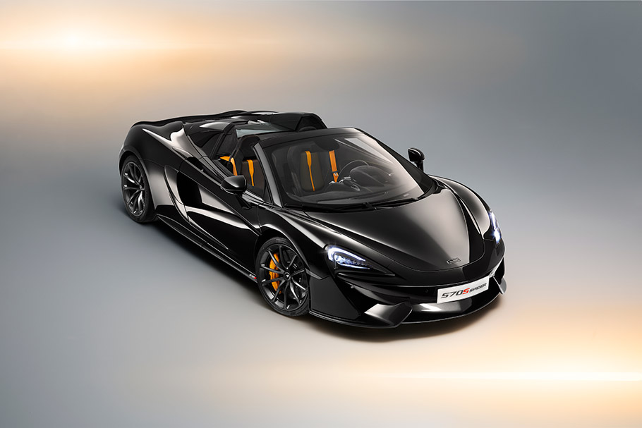 2018 McLaren 570S Spider Design Edition