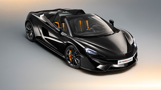 mclaren reveals new 570s spider design edition models
