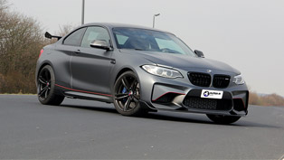 One more BMW M2 has undergone through tuning program by N-Performance team