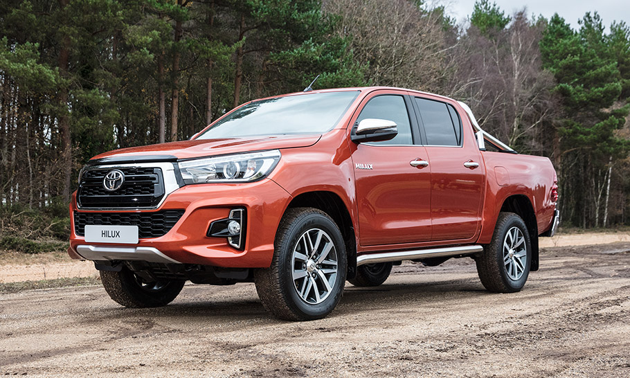 2018 Toyota Hilux Invincible X