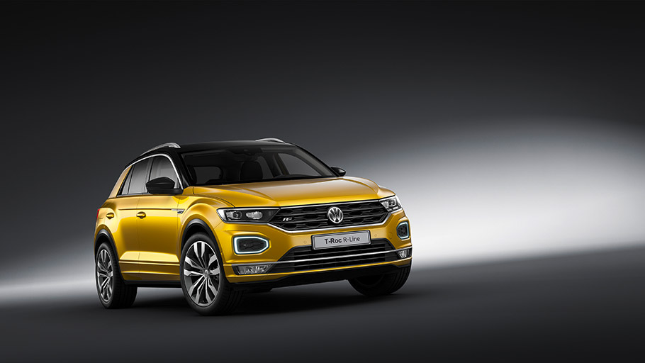 2018 Volkswagen T-Roc R-Line
