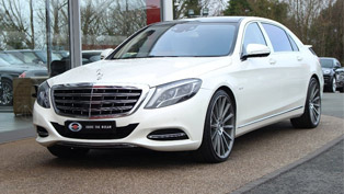Lewis Hamilton sells a Maybach vehicle. Check it out!