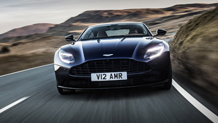 Aston Martin showcases the agile DB11 AMR